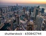 Dubai Marina Skyline From Top...