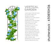 landscaping and gardening...   Shutterstock .eps vector #650850436