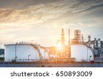 refinery industry and natural... | Shutterstock . vector #650893009