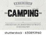 font.alphabet.script.typeface... | Shutterstock .eps vector #650893960