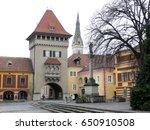 charming town of k szeg ... | Shutterstock . vector #650910508