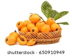 close up view of some loquat... | Shutterstock . vector #650910949