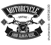 Motorcycle Logo Template....