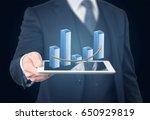 screen. | Shutterstock . vector #650929819