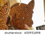 Wooden Horse Head   Decoration...