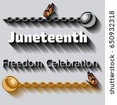 Juneteenth Celebration Poster...