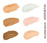 color correcting concealer on... | Shutterstock . vector #650938744