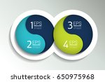 two business elements banner. 2 ... | Shutterstock .eps vector #650975968