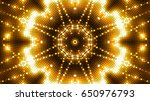 golden glittering lights | Shutterstock . vector #650976793