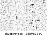grunge overlay texture. vector... | Shutterstock .eps vector #650981860