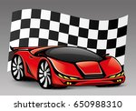 racing car. | Shutterstock .eps vector #650988310