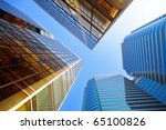 office buildings | Shutterstock . vector #65100826