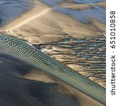 Small photo of Aerial view of Baie de Somme - France