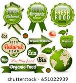 natural banners set | Shutterstock . vector #651022939