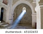 Sunray Inside Church Through...