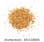 Mixed Bird Seed Isolated On...