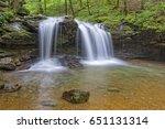 debord falls at frozen head... | Shutterstock . vector #651131314