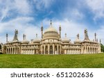 Brighton pavilion in summer