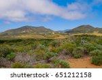 cerro cabrillo from elfin... | Shutterstock . vector #651212158