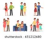 family character vector design... | Shutterstock .eps vector #651212680