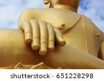 buddha statue on background | Shutterstock . vector #651228298
