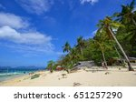 palawan  philippines   apr 5 ... | Shutterstock . vector #651257290