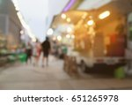 blurred background of side view ... | Shutterstock . vector #651265978