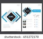abstract vector modern flyers...   Shutterstock .eps vector #651272170