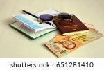 ready for holiday trip need... | Shutterstock . vector #651281410