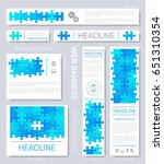 web banner design templates... | Shutterstock .eps vector #651310354
