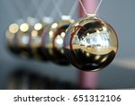 Small photo of 5 Balls Pendulum, Newton's cradle