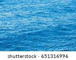 blue sea background | Shutterstock . vector #651316996