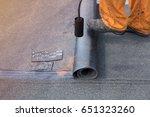 professional installation of... | Shutterstock . vector #651323260
