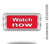 watch web icon . 3d...   Shutterstock . vector #651324100