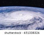Typhoon Over Planet Earth  ...