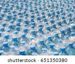 water bottles   plastic bottles ... | Shutterstock . vector #651350380