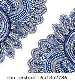 Blue color paisley