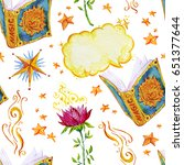 watercolor artistic hand drawn...   Shutterstock . vector #651377644