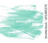 green abstract background | Shutterstock .eps vector #651385270