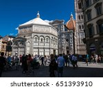 florence  italy   17 april 2017 ... | Shutterstock . vector #651393910