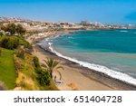 beach in south tenerife | Shutterstock . vector #651404728