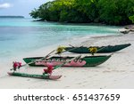 bora bora tropical beach | Shutterstock . vector #651437659