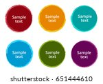 grunge labels and badges | Shutterstock .eps vector #651444610
