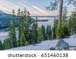 Emerald Bay At The Lake Tahoe...