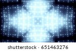 glowing stage lights | Shutterstock . vector #651463276