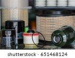 close up of oil filter  air... | Shutterstock . vector #651468124