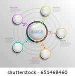 infographic bussiness... | Shutterstock .eps vector #651468460