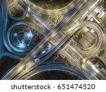 road traffic in city at... | Shutterstock . vector #651474520