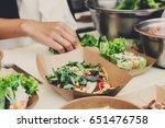 street food festival  catering... | Shutterstock . vector #651476758