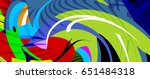 holiday holi backdrop. colorful ... | Shutterstock .eps vector #651484318